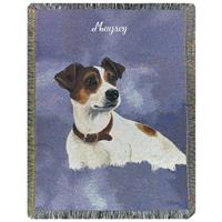 A Plus® Personalized Jack Russell Throw