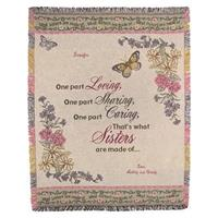 A Plus® Personalized Sister Throw