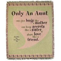 A Plus® Personalized Aunt Throw
