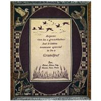 "A Plus® Personalized ""Ducks"" Throw"