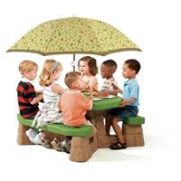 Step 2® Naturally Playful® Picnic Table with Umbrella Set