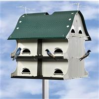 12-room American Barn Purple Martin House