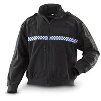 Used British Police Fleece Jacket, Black