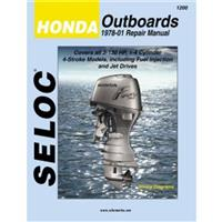 Seloc Engine Manual for 1978-2001 Honda Outboards