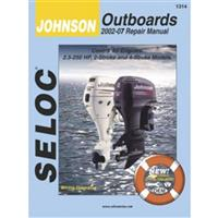 Seloc Engine Manual for 2002-2007 Johnson Outboards