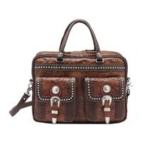 American West® 3-Compartment Laptop Briefcase