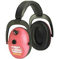 Pro Ears® Predator Gold Hearing Protection and Amplification Ear Muffs, Pink