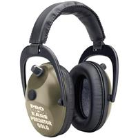 Pro Ears® Predator Gold Hearing Protection and Amplification Ear Muffs, Green