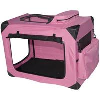 Pet Gear® Small Generation II Deluxe Portable Soft Crate, Pink