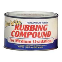 Starbrite® Paste Rubbing Compound, Medium Duty