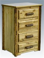 Montana Woodworks® Glacier Country 4-drawer Chest