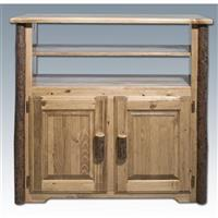 Montana Woodworks® Glacier Country Media Center