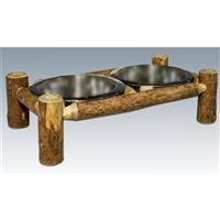 Montana Woodworks® Glacier Country Rustic Dog Feeder
