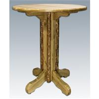 Montana Woodworks® Glacier Country Pedestal Pub Table