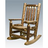 Montana Woodworks® Glacier Country Child's Log Rocker