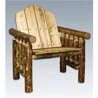 Montana Woodworks® Glacier Country Log Deck Chair