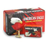 American Eagle, .22LR, Copper-plated, HP, 38 Grain, 1600 Rounds