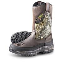 Guide Gear Men's Hunting Pull-On Boots, 1,000 Gram Thinsulate,  Waterproof, Mossy Oak®