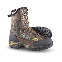 "Men's Guide Gear 9 1/2"" Waterproof 2,000 gram Thinsulate Ultra Insulation Arctic Hunter Boots, Mossy Oak"