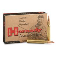 Hornady Rifle, 30-06 M1 Garand, A-Max Match, 168 Grain, 20 Rounds