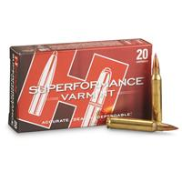 Hornady Superperformance Varmint, .223 Rem., NTX, 35 Grain, 20 Rounds