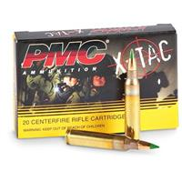 PMC X-Tac, 5.56x45mm, FMJ, M855 62 Grain, 500 Rounds