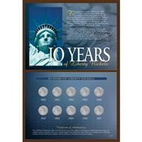 10 Years of Liberty Nickels from Unified Precious Metals