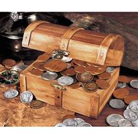 Treasure Chest of 51 Historic Coins from Unified Precious Metals