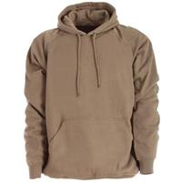 Berne Apparel® Thermal Lined Fleece Hooded Pullover, Alpine Green