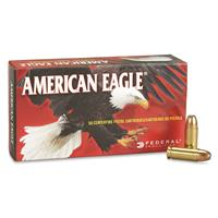 Federal, American Eagle Pistol, .38 Super +P, JHP, 115 Grain, 50 Rounds