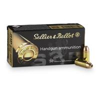 Sellier & Bellot, 9mm Luger, JHP, 115 Grain, 50 Rounds