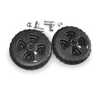 Patriot 8 foot Dock Roll-in Plastic Wheels Kit