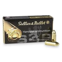 Sellier & Bellot, 9mm Luger, FMJ, 124 Grain, 500 Rounds
