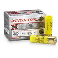 "15 rds. Winchester® Super-X® 20 Gauge 2 3/4"" 3/4 oz. Slugs"