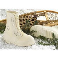 Men's New U.S. Mickey Boots, White