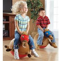 2 Racing Horse Hopper Balls • A pair of giddy-up gifts