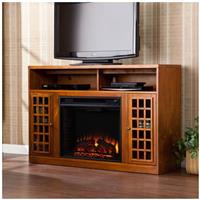 Akita Media Electric Fireplace