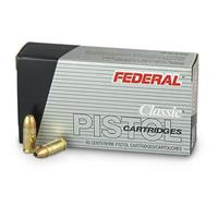 Federal® Hi-Shok® 9mm 115-grain JHP Ammo
