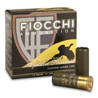 "Fiocchi, Golden Pheasant, 12 Gauge, High Velocity Nickel-plated, 2 3/4"" 1 3/8-oz. Shells, 25 Rounds"