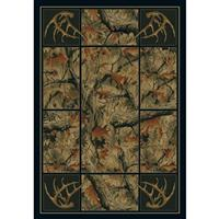 United Weavers® Antler / Camo Rug