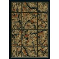 United Weavers® Camo Grid Rug
