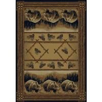 United Weavers® Grizzly Bear Rug
