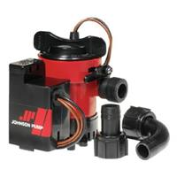 Johnson Pump® Combo Bilge Pump with Auto Electromagnetic Switch