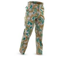 Mil-Tec® E. German Military Surplus BDU Pants, Camo