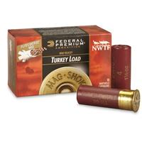 "Federal Premium Mag-Shok Lead, 12 Gauge, 2 3/4"" NWTF, Turkey Load Shells, 10 Rounds"