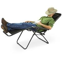 Guide Gear® Zero Gravity Lounger, Black