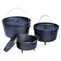 Stansport® Cast Iron Dutch Ovens