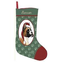 Personalized Boxer Stocking