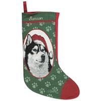 Personalized Husky Stocking