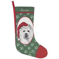Personalized West Highland Terrier Stocking
